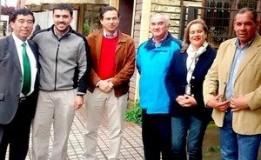 CHILE VAMOS REÚNE SUS ALCALDES TRIUNFADORES ELEGIDOS DE LA PROVINCIA DE ARAUCO