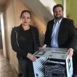Frontel realizó entrega de grupos generadores a pacientes electro-dependientes