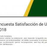 ENCUESTA DE SATISFACCIÓN DE SERVICIOS MUNICIPALES