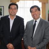 DIRECTOR PROVINCIAL DE SERCOTEC Y ALCALDE DE CAÑETE COORDINAN ACCIONES